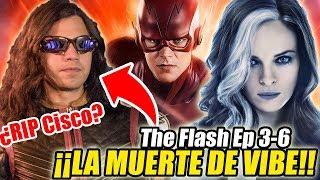 """¡""""LA MUERTE DE VIBE"""" EXPLICADA! The Flash 5x03 y MÁS TITULOS REVELADOS De Temporada 5! (Ep. 1-6)"""