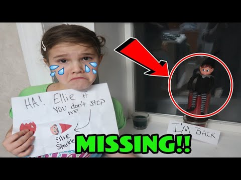 Mean Elf Took My Elf On The Shelf! Doll Maker is Back I Touched My Elf!