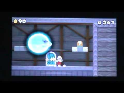 New Super Mario Bros  2 World 6 Ghost House Star Coin Walkthrough
