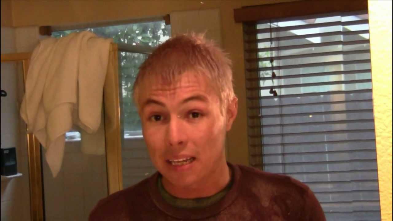 Decolorar cabello de hombre