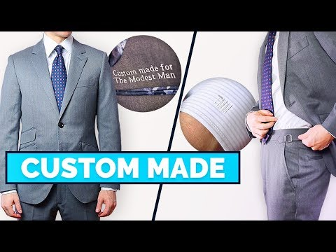 5 Reasons to Buy a Custom Suit | Why I Love Made-To-Measure Clothing