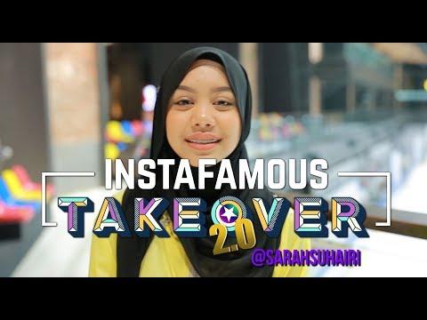 Instafamous Takeover 2.0 | Sarah Suhairi Belajar Cakap Tamil