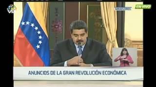 Nicolas Maduro anuncia Aumento de Salario y otras medidas económicas