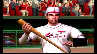 (PS2) MVP Baseball 2004 Full Game Giants @ Cardinals (Old Busch Stadium)
