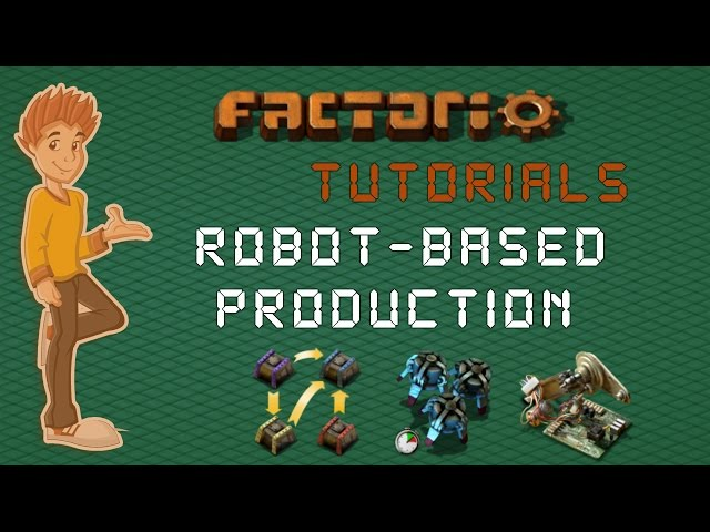 Logistic Robot Based Production - Factorio Tutorial