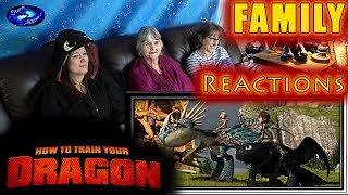 How to Train Your Dragon | FAMILY Reactions | Fair Use