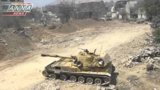 2014 Syria Работает САУ  2С3 «АКАЦИЯ»