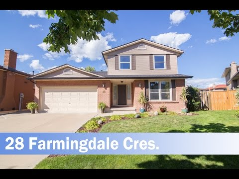 House for Sale in Stoney Creek 28 Farmingdale Cres