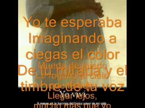 Alejandra Guzmán Yo Te Esperaba Letra Youtube