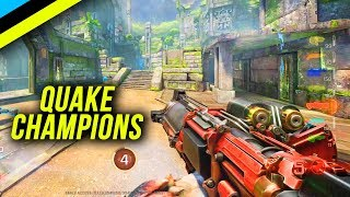 So I Tried Quake Champions After E3 2018.... Here's My Thoughts