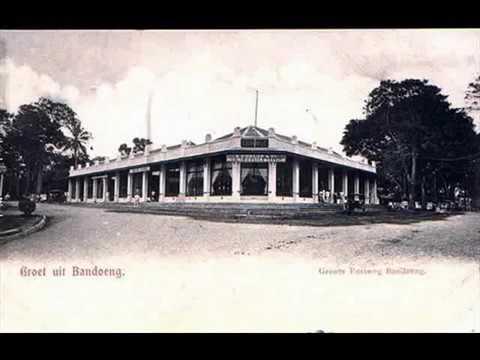 Dutch East Indies-era Bandung Tourism Ad