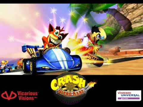 Crash Bandicoot Car Racing
