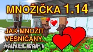 JAK POSTAVIT / OPRAVIT MNOŽIČKU v 1.14, JAK ROZMNOŽIT VESNIČANY | Minecraft TUTORIAL | Gala (CZ/SK)