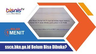 Download Video sscn.bkn.go.id Belum Bisa Dibuka? MP3 3GP MP4