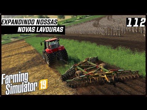 EXPANDINDO NOSSAS NOVAS LAVOURAS! | FARMING SIMULATOR 19 #112 [PT-BR] thumbnail