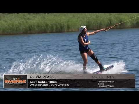 Olivia Pease – Wakeboard video – Best Cable Trick – Pro Women wakeboarder