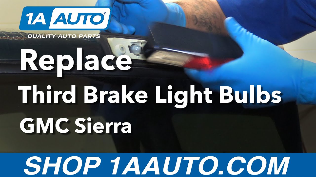 How To Replace Install Third Brake Light And Cargo Bulbs 1996 Gmc 98 Truck Tail Wiring Sierra Buy Parts At 1aautocom
