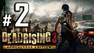 Dead Rising 3: Apocalypse Edition Walkthrough Gameplay - The Dilly Diner - Part 2 [PC 1080p HD]