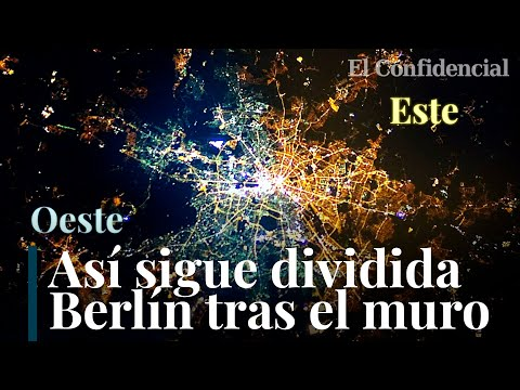 La división de Berlín que solo se puede ver desde el cielo