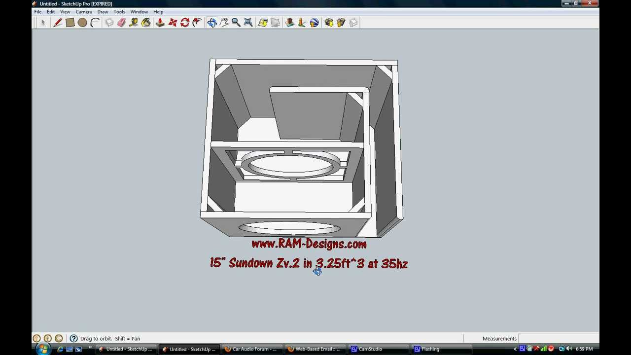how to make a sub box ported