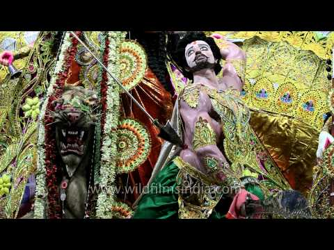 Idol of power and strength: Maa Durga