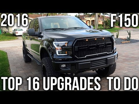 BEST 16 F150 MODS & UPGRADES YOU SHOULD DO TO YOUR 2015-2017 FORD