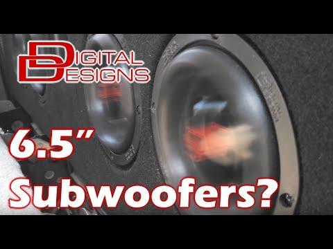 4 Digital Designs 6.5 woofers going HARD