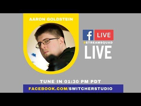 Aaron Goldstein   VidCon 2017