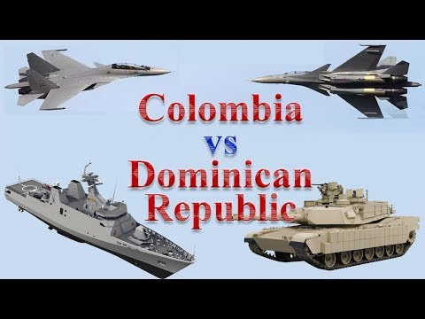 Colombia vs Dominican Republic Military Comparison 2017