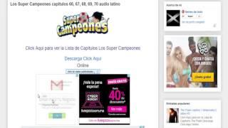 los super campeones capitulos 66, 67, 68, 69, 70 audio latino
