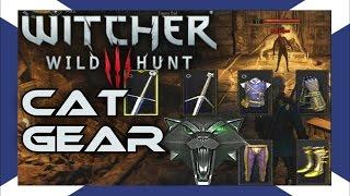The Witcher 3: Cat School Gear Walkthrough