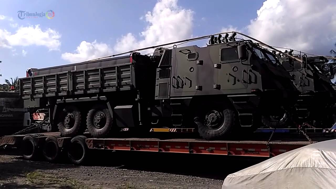 Dahsyat! Kendaraan Tempur  Milik TNI