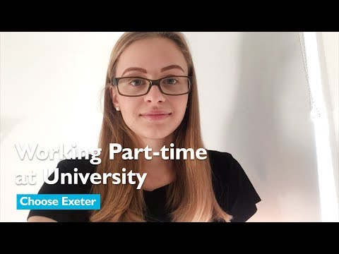 Working part-time at University – Choose Exeter