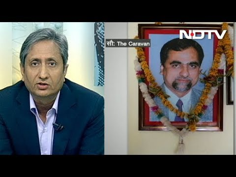 Prime Time with Ravish: Why is Media Silent on the 'Mysterious' Death of a Judge?