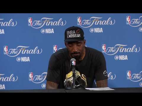 JR Smith Breaks Down During Post Game Interview