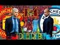 FIFA 17 - Modo Carrera Manchester Utd. [Cap. #4] EL DERBI DE MANCHESTER