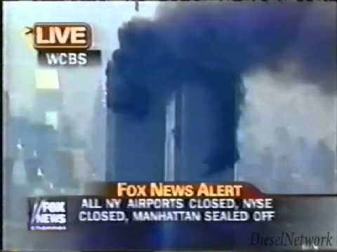 Real Fox News 911 Footage un-edited with eye witness accounts