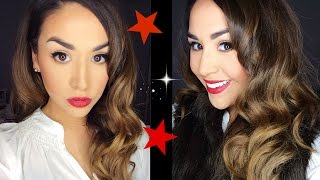 Old Hollywood Curls | New Years Eve Collab W Mrslolalynn