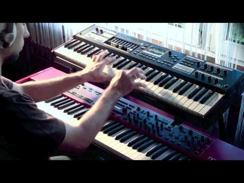 Nord Stage 2 VS Hammond Sk1 compare organ Percussion www.muzykuj.com