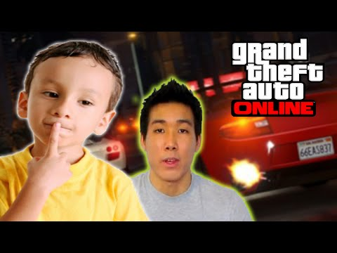 KID THINKS HE'S VANOSSGAMING IN GTA V ONLINE (TROLLING IN GTA 5)
