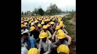 Safety toolbox meeting Arvind Kumar Maurya ITD cementation India limited