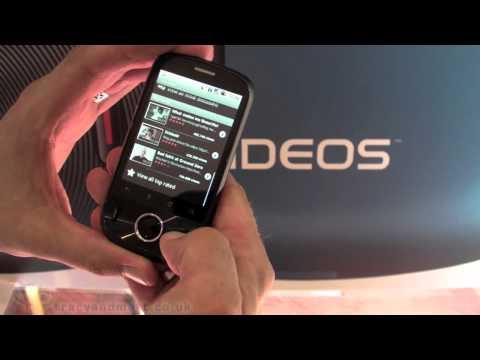 Huawei IDEOS demo video