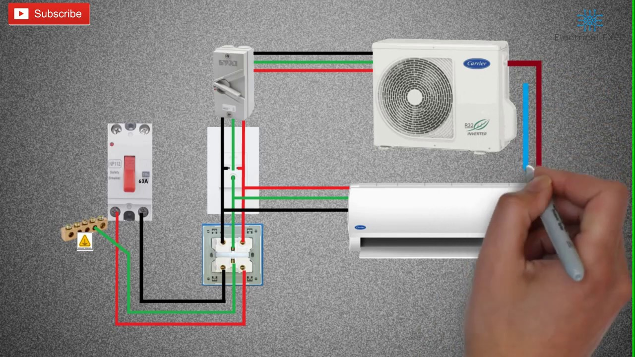Split Type Aircon Installation Wiring Diagram