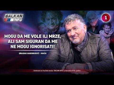 INTERVJU: Dragan Marinković Maca - Mogu da me vole ili mrze, ali me ne mogu ignorisati! (13.12.2018)