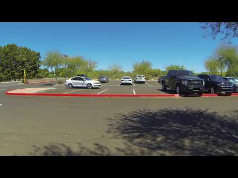 Parked like a Christian at Christ's Greenfield Lutheran Church, Gilbert, Arizona, 13 May 18 GP025857