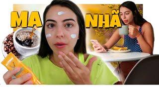 Minha ROTINA DA MANHÃ *MORANDO SOZINHA*!!!