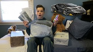 MY FIRST FAN MAIL OPENING!