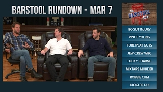 Video Barstool Rundown - March 7, 2017 download MP3, 3GP, MP4, WEBM, AVI, FLV November 2017