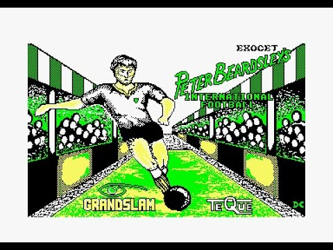 Peter Beardsley's International Football Review for the Amstrad CPC by John Gage