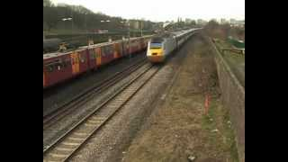 ECML Diversions on the Newcastle-Sunderland Line 16 & 17 Feb 2013